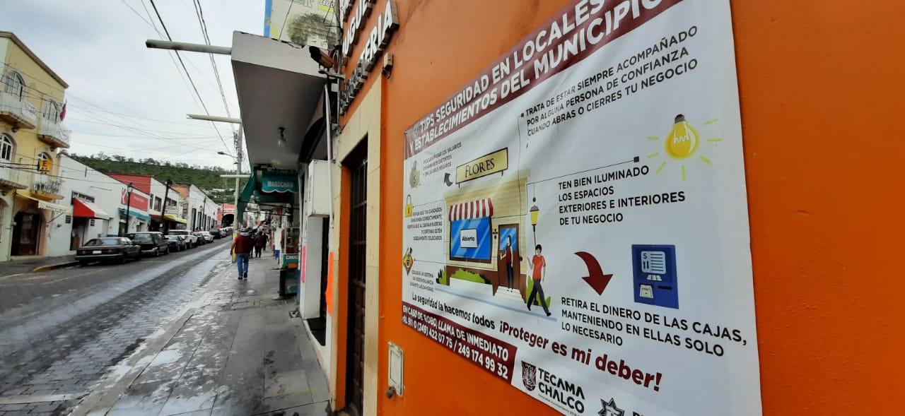 Arranca programa Candado Seguro contra robos a comercios en Tecamachalco