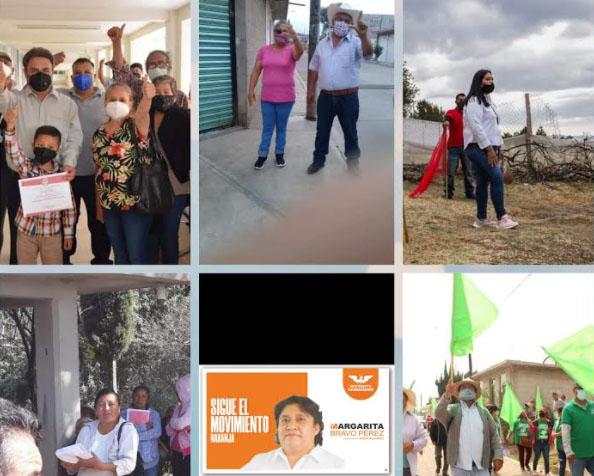 Once candidatos buscan la alcaldía de Teotlalcingo