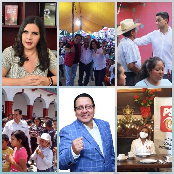 Más de 20 aspirantes buscan ser presidentes municipales de Texmelucan
