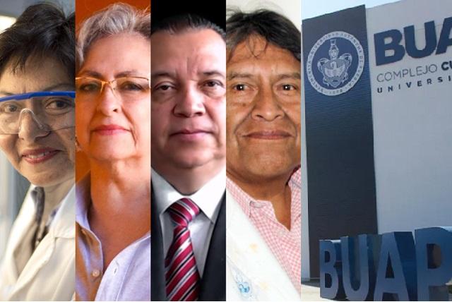Avanzan 4 candidatos en elección por la rectoría de la BUAP