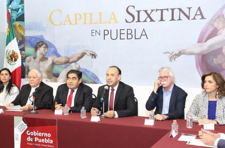 Colocarán réplica de la Capilla Sixtina en catedral de Puebla
