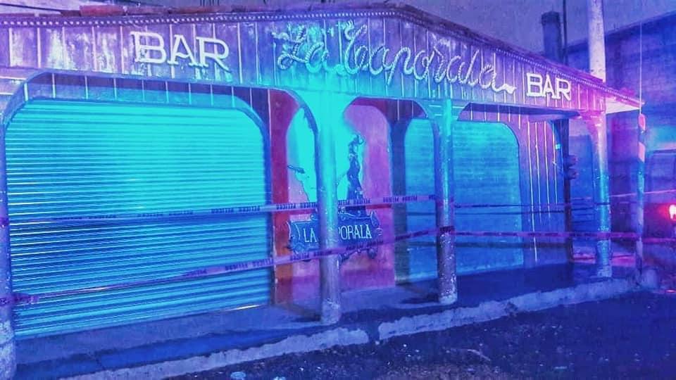 Clausuran bar La Caporala en Chietla