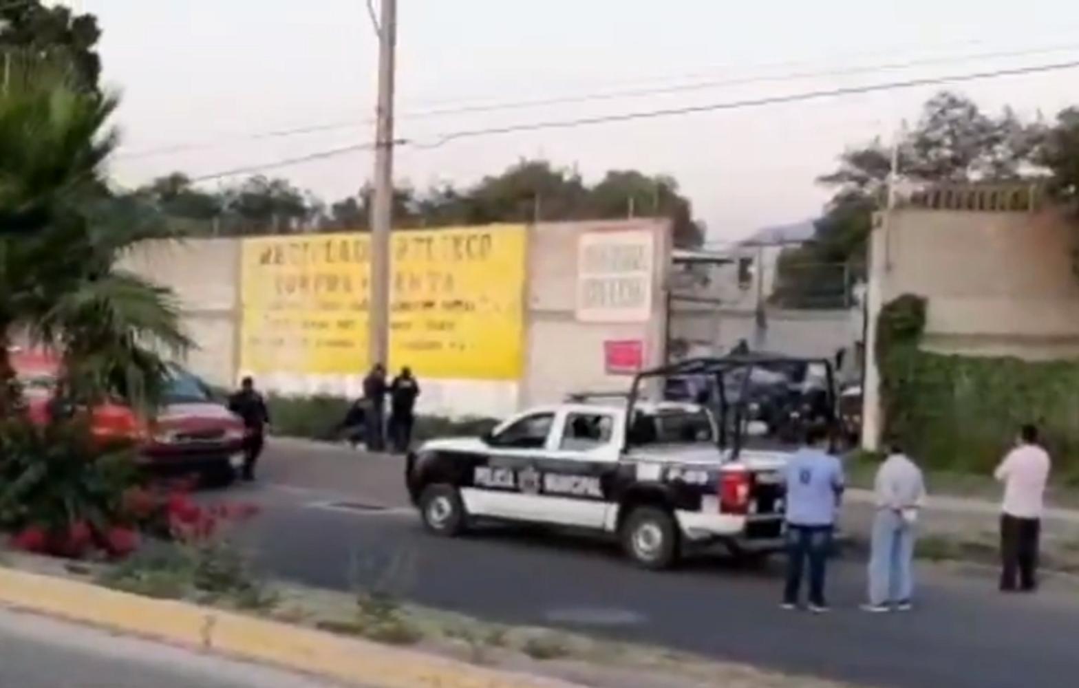 A disparos, matan a dueño de recicladora en Atlixco