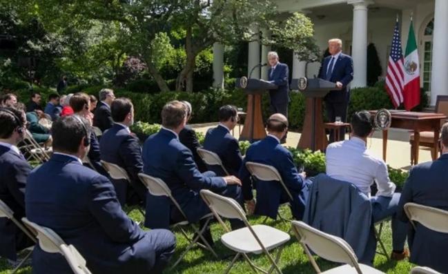 Visita de AMLO  a EU ha sido excepcional: Trump