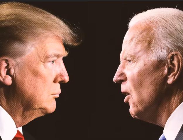 Trump reparte culpas y advierte fraude en primer debate con Biden