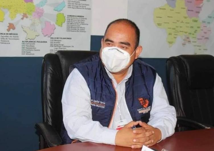 Ejecutan a presidente municipal de Zapotlán en Hidalgo