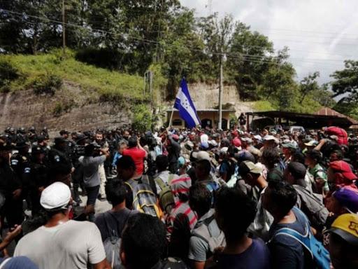 Se alista caravana de migrantes para entrar a Tabasco y Chiapas