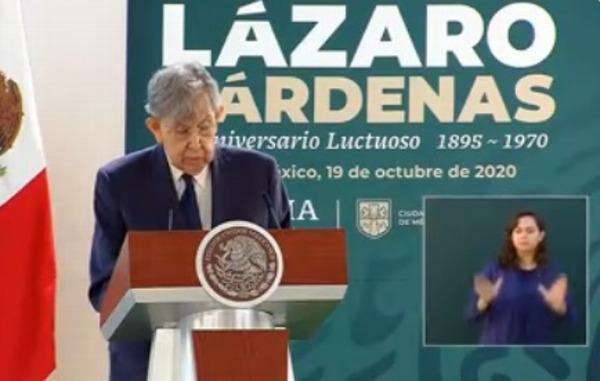 Mi padre respetó a la oposición a pesar de ataques: Cárdenas