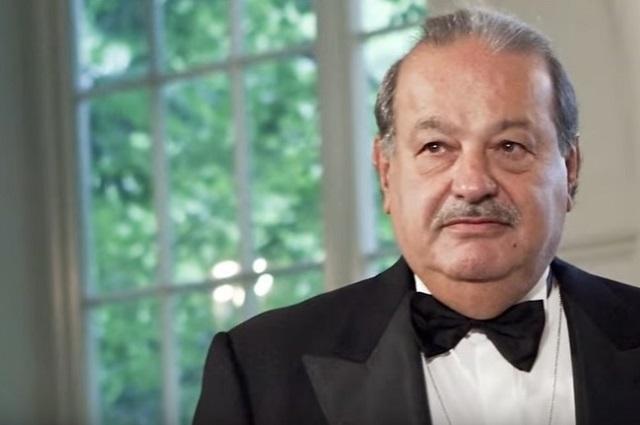 Va Carlos Slim por licitaciones del Tren Maya