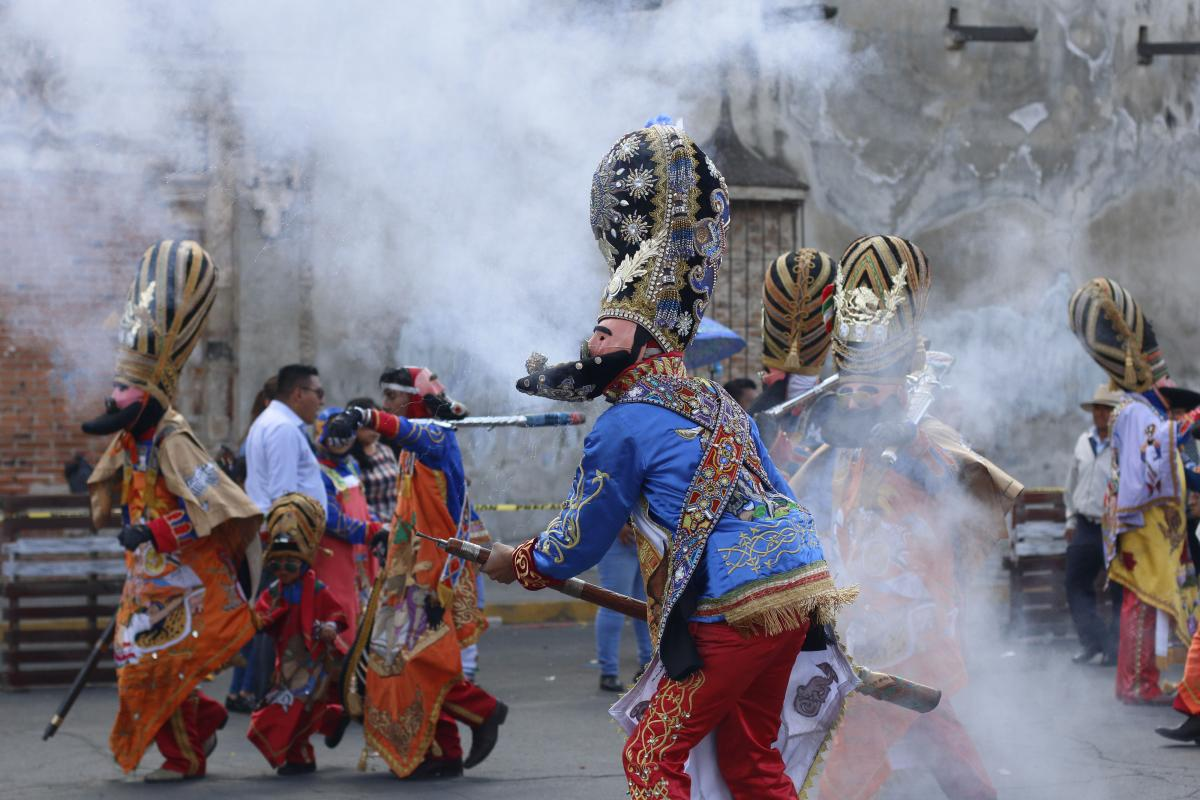 Vamos todos al carnaval de San Pedro Cholula