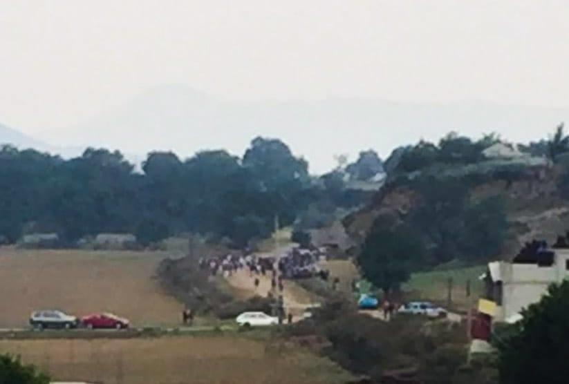Aún en contingencia celebran carrera de caballos Cuyoaco