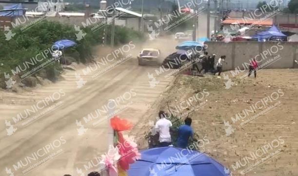 VIDEO En carrera pierde el control y mata a uno en Libres