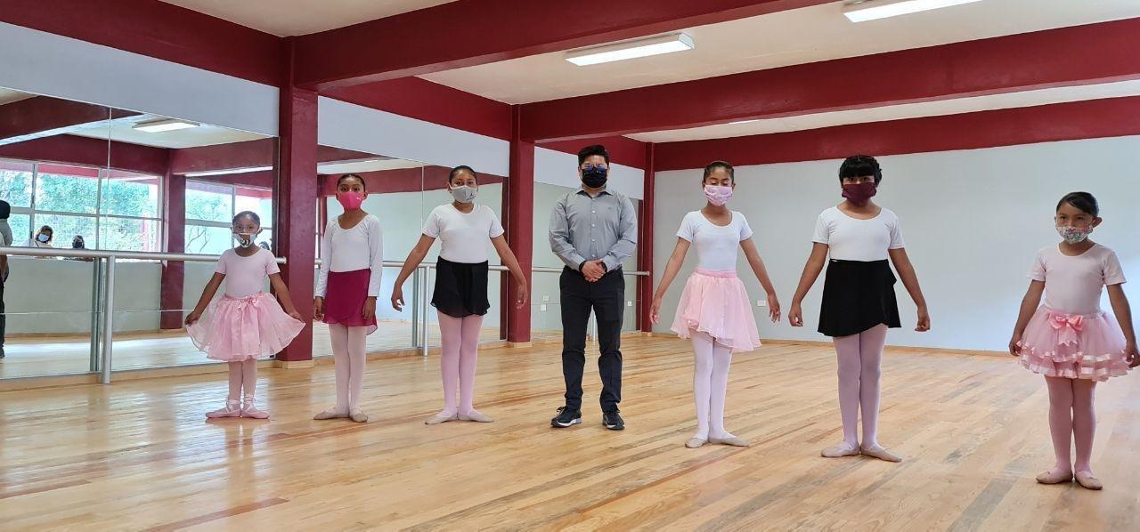 Teutli inaugura ampliación de la Casa de Arte y Cultura de Coronango