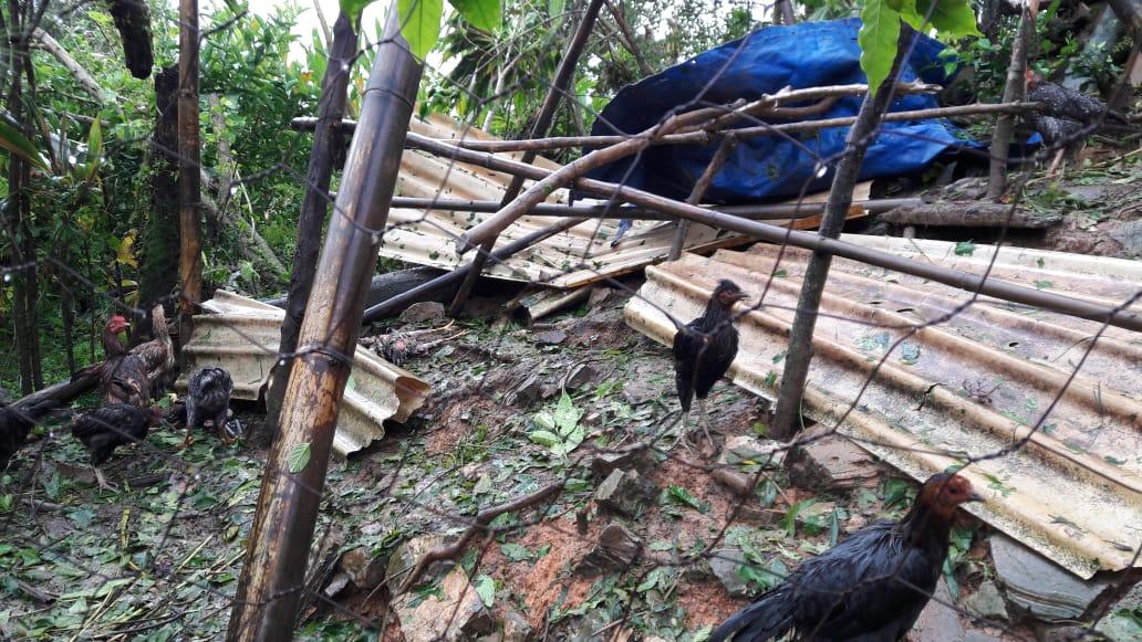 En Cuetzalan pide apoyo al gobierno para familias devastadas por Grace