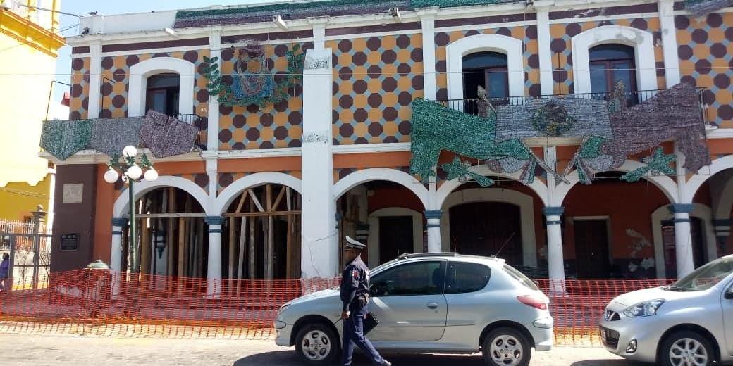 Casa Colorada en Izúcar, llena de roedores e insectos