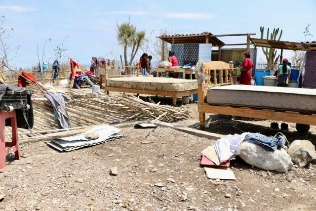 Sin apoyos, 60 familias afectadas por lluvias en San Diego Chalma, Tehuacán