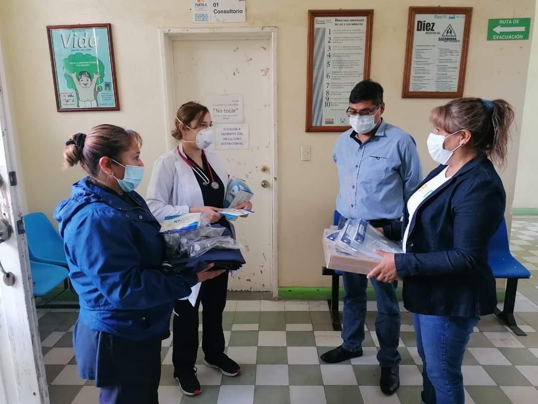 Reactivan atención médica en Casa de Salud de Tlalancaleca