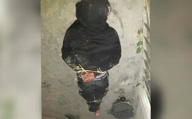Con cuchillo en mano, iba a robar una casa y casi lo linchan en Chietla