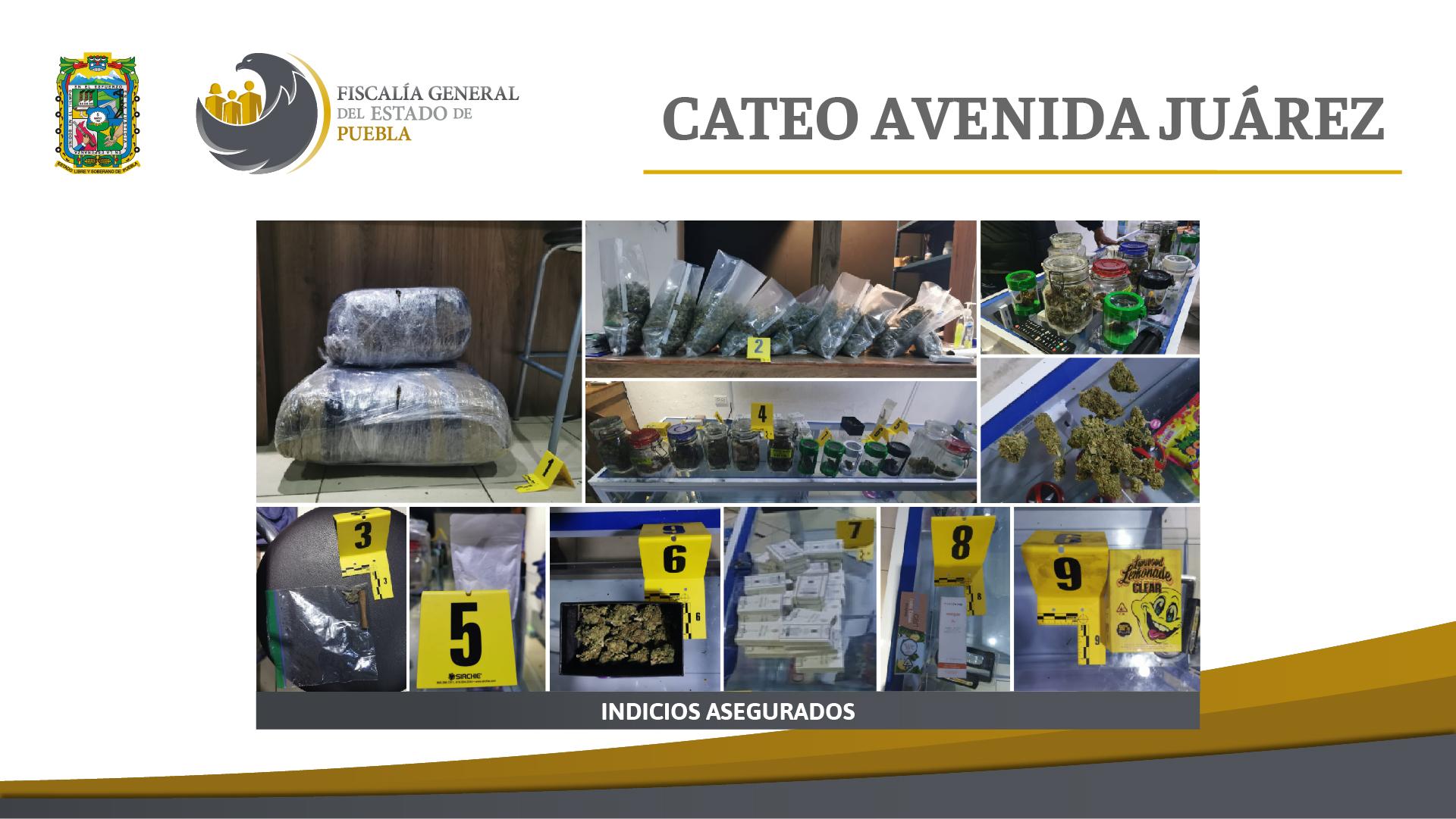 Fiscalía cateó domicilio en Puebla con más de mil autopartes