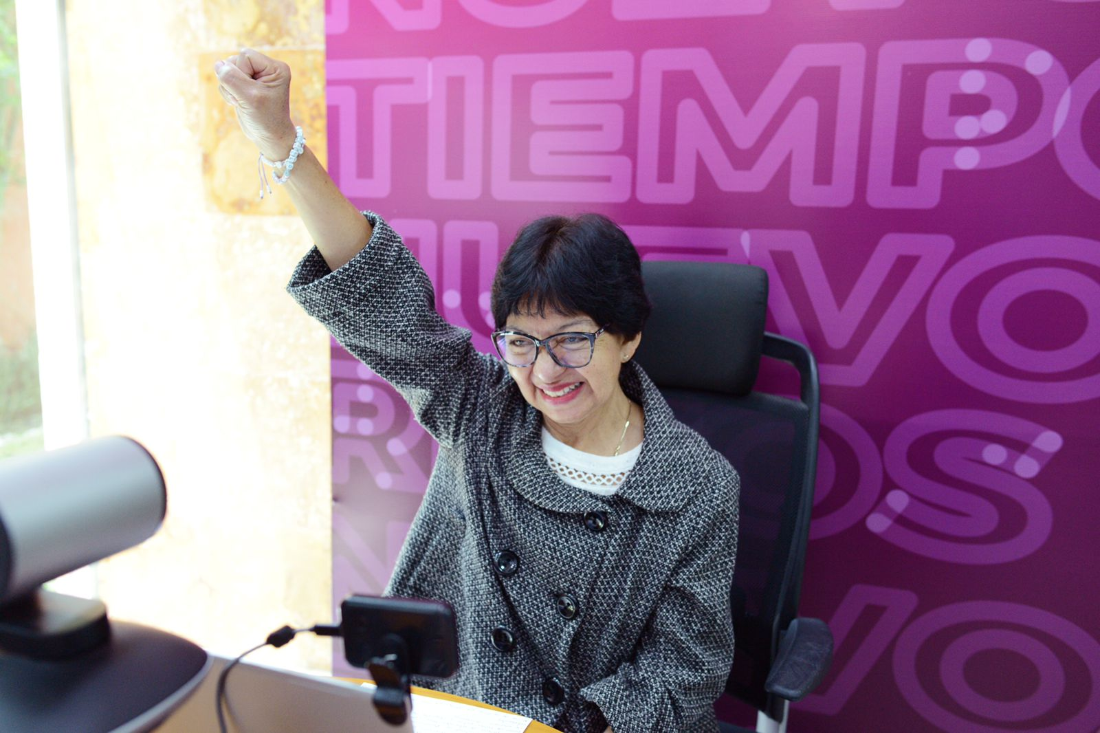 Deporte, prioridad para la candidata a la rectoría de la BUAP Lilia Cedillo Ramírez