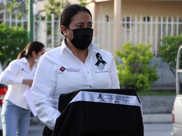 Entregan a familias de Chiautzingo cenizas de migrantes muertos por Covid