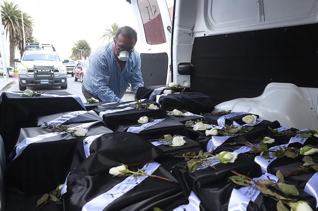 Por error en datos, está pendiente la entrega de cenizas de un migrante en Izúcar