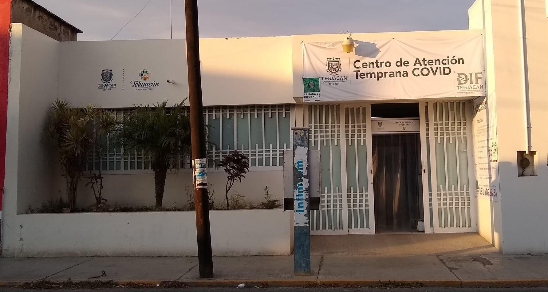 Aumentan pacientes en Centro de Atención Covid en Tehuacán