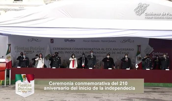 EN VIVO Ceremonia del 210 aniversario del inicio de la Independencia