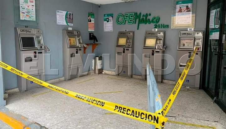 Se roban más de 1 millón de pesos de cajeros de la CFE en Tehuacán