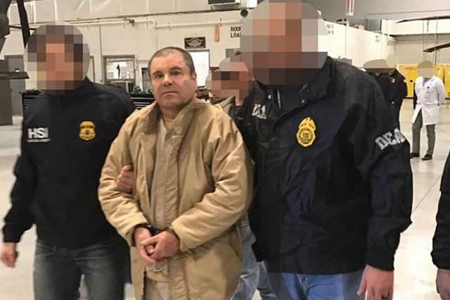 Abogados de El Chapo apelan contra cadena perpetua