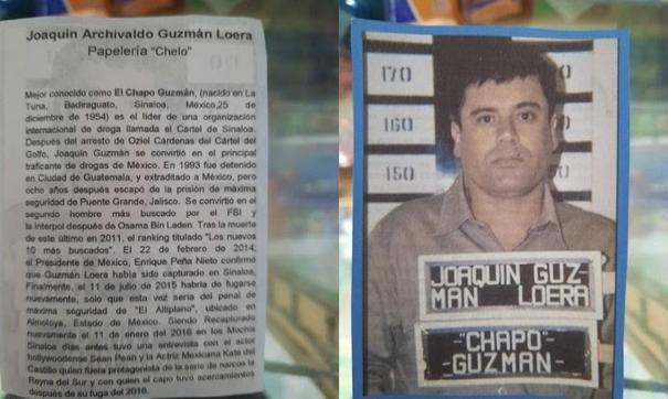 Crean la monografía de El Chapo Guzmán y registra altas ventas
