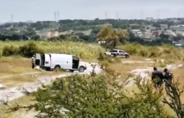 Dejan ejecutado en campos de cultivo de Santo Tomás Chautla