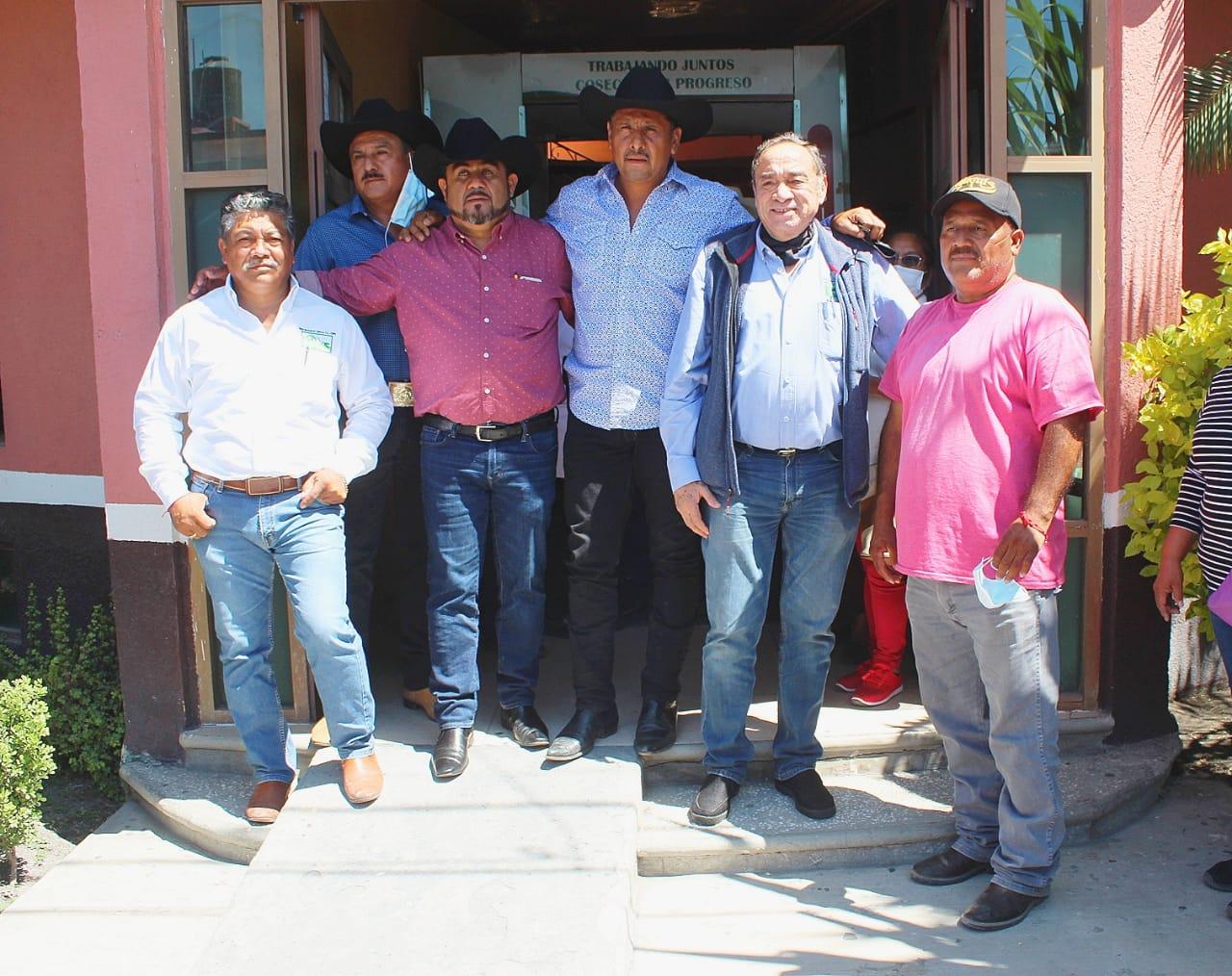 Eliseo Morales, virtual presidente de la CNPR del ingenio de Atencingo