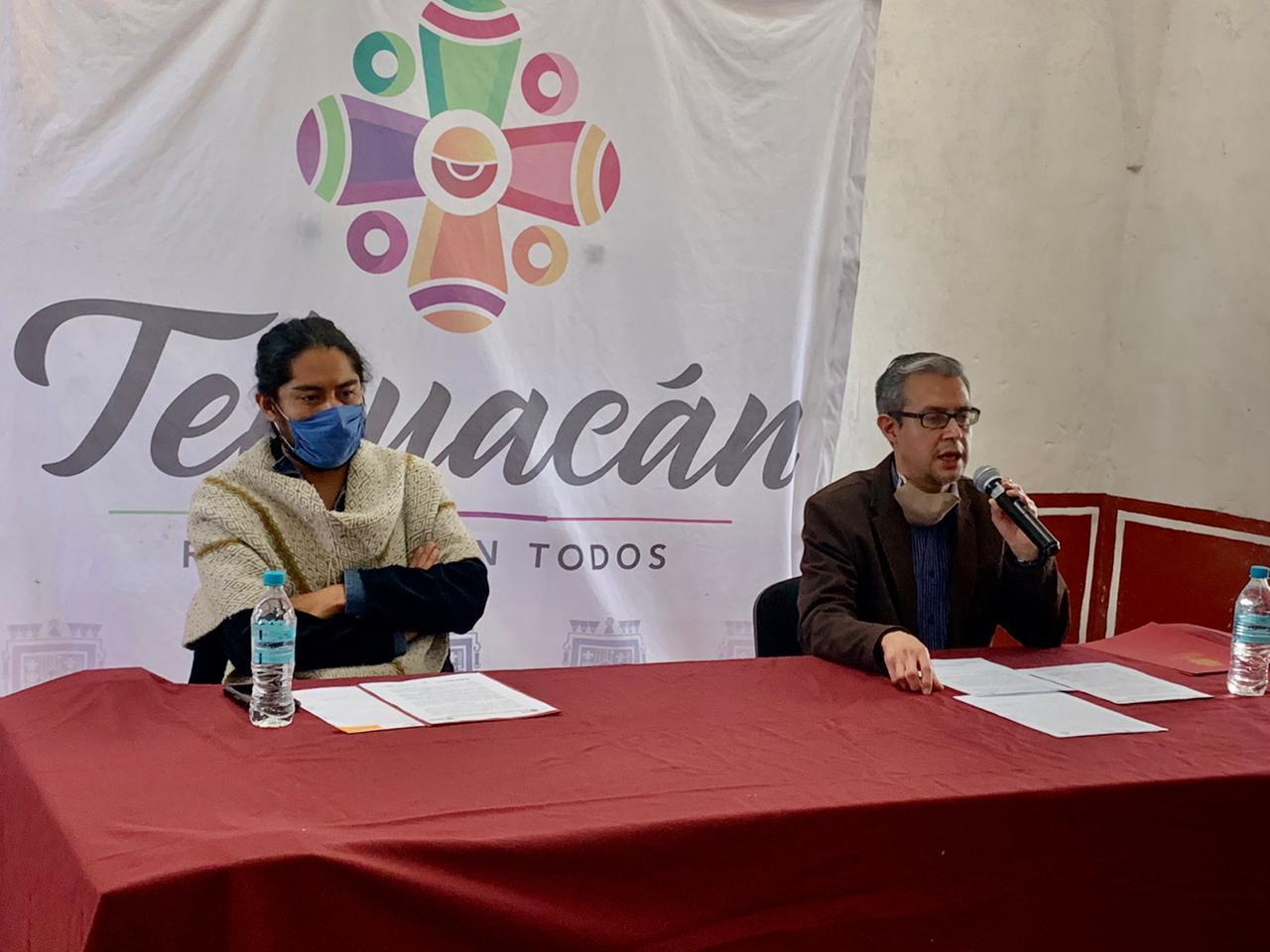 Darán restauración a la escultura de El chivo en Tehuacán