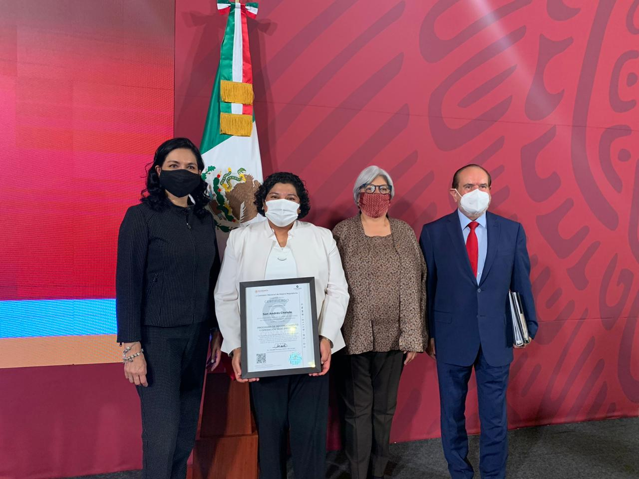 San Andrés Cholula, primer municipio poblano en recibir certificado Prosare