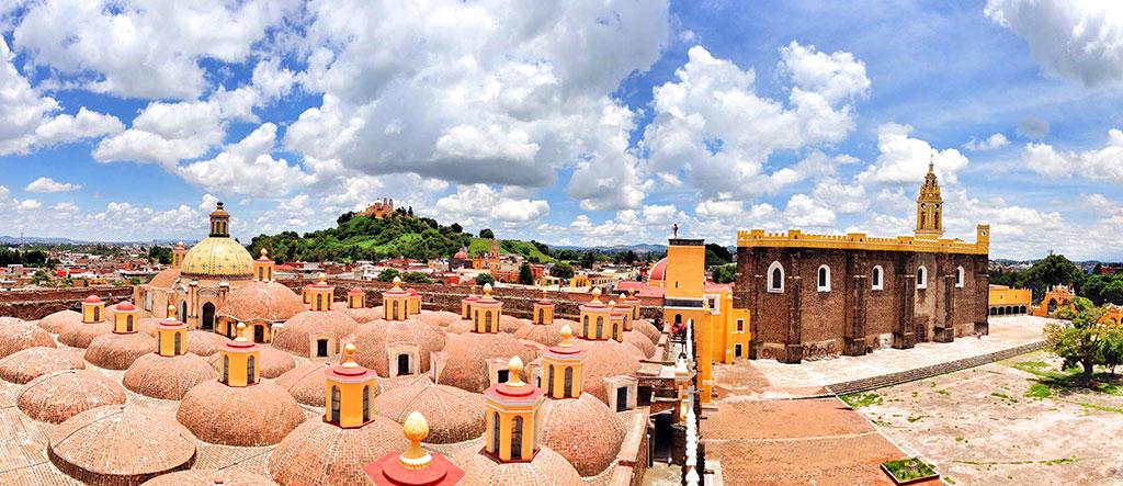 Dan luz verde para reabrir templos en San Pedro Cholula