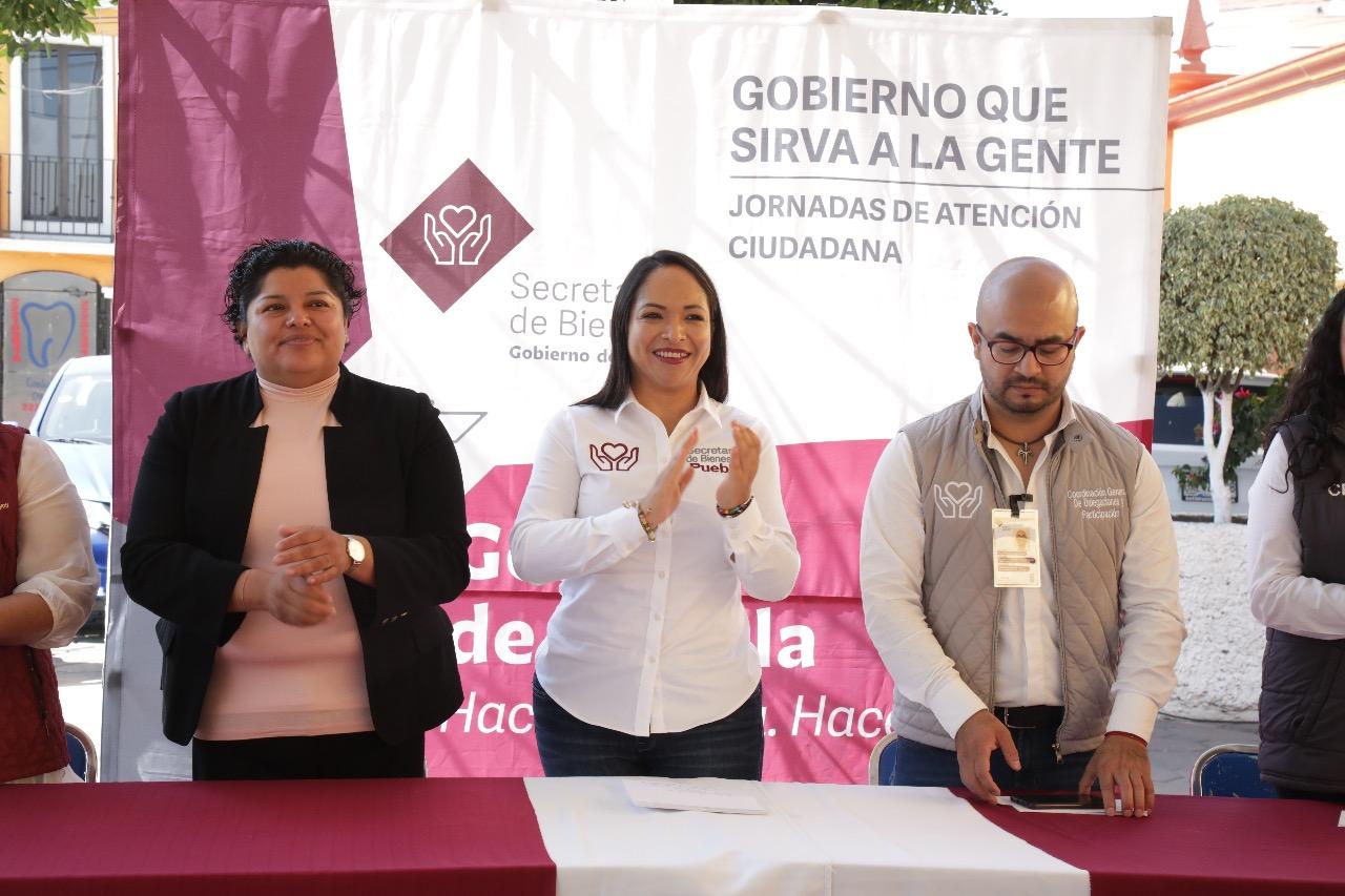 Pérez Popoca y Lizeth Sánchez realizan Martes Ciudadano en San Andrés