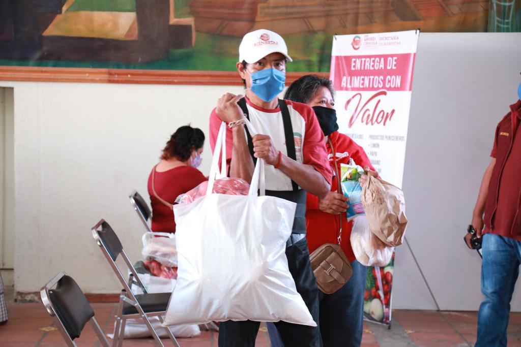 Con Valores a tu mesa, San Andrés impulsa la solidaridad en el municipio