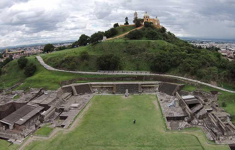 Zona arqueológica de Cholula reabrirá al público el 1 de julio