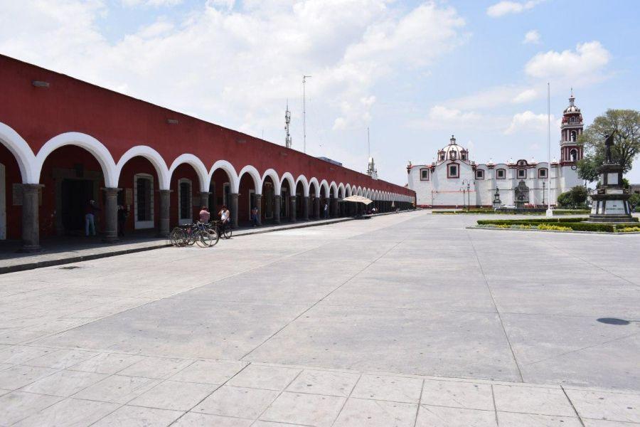 Pérdidas de hasta 70% reportan comercios de San Pedro Cholula