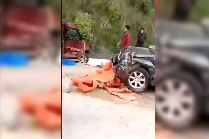 VIDEO Fuerte accidente en la autopista México – Puebla