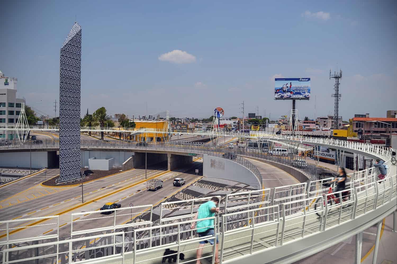 Detectan fallas en la ciclopista y el distribuidor Juárez Serdán