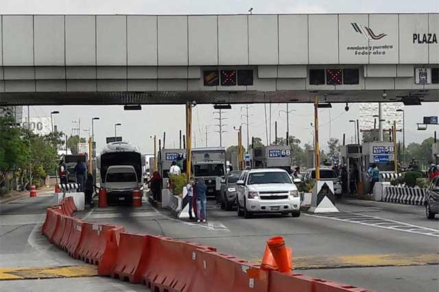Habrá cierre de la México-Puebla este sábado 9 de octubre