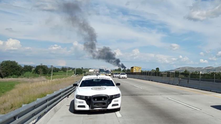 Cierran la Puebla-Orizaba por fuga de gas LP