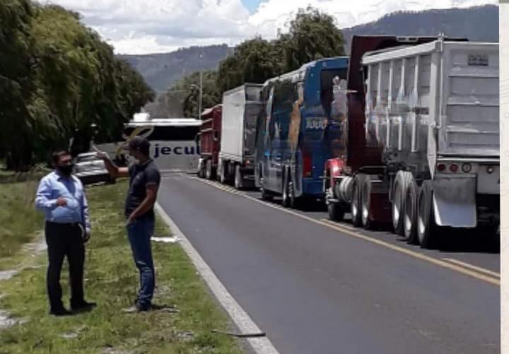 Protesta pobladores de Libres por uso de cañones anti granizos