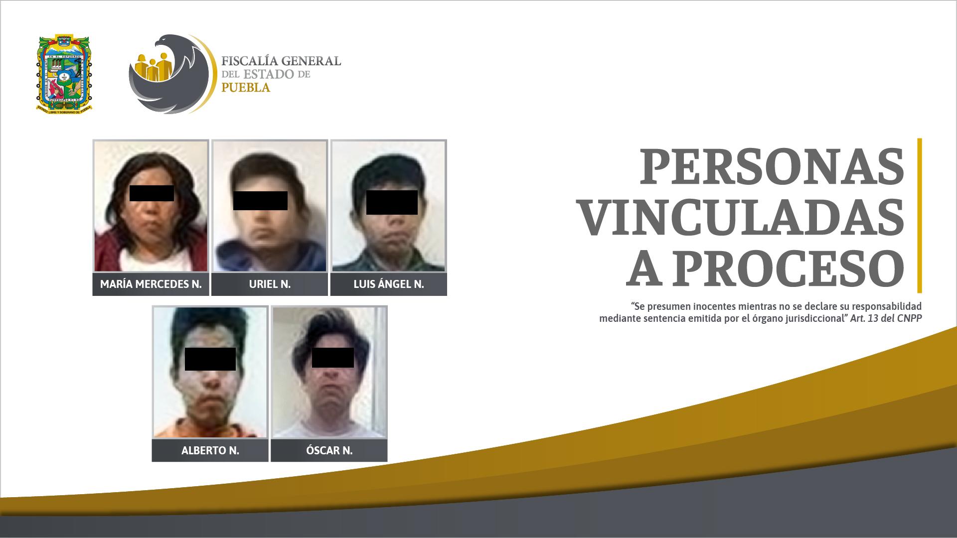 A la cárcel 5 narcomenudistas detenidos en Huejotzingo y Cuautlancingo