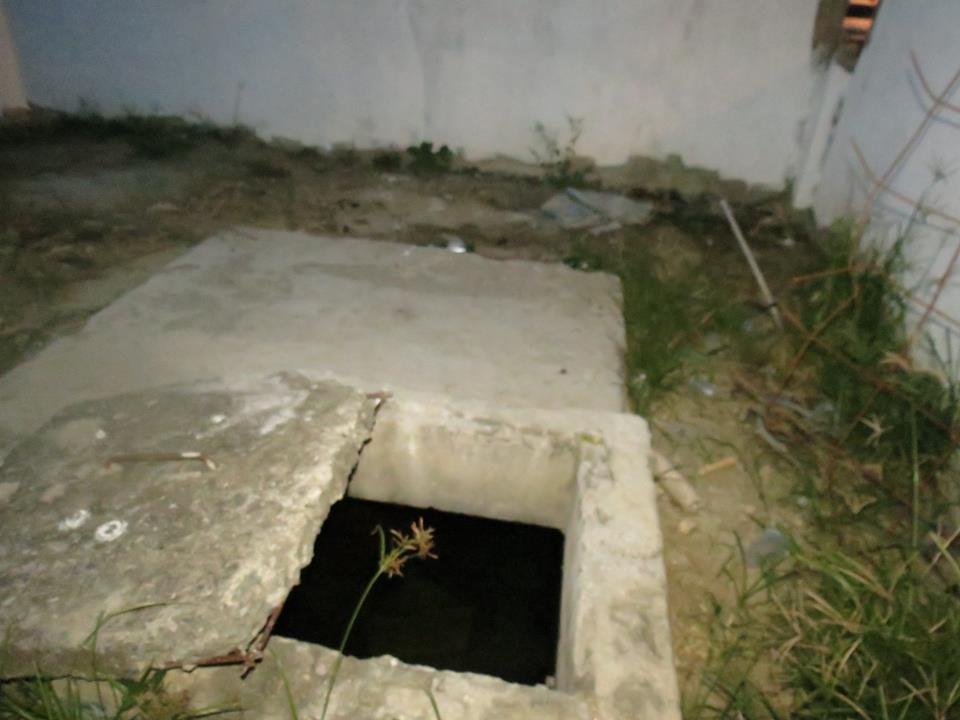 Michel de 3 años resbala y cae a cisterna en San Salvador El Seco