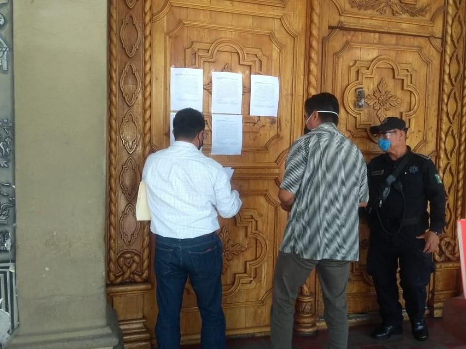 Congreso cita a edil suplente de Tehuacán para notificarle proceso de destitución