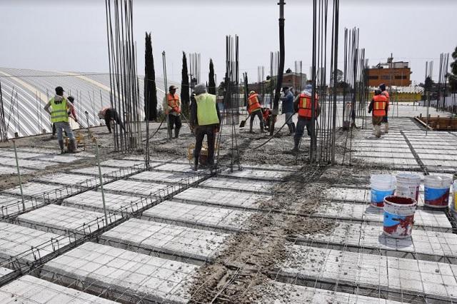 Ayuntamiento de Puebla e IP alistan reapertura del sector construcción y servicios