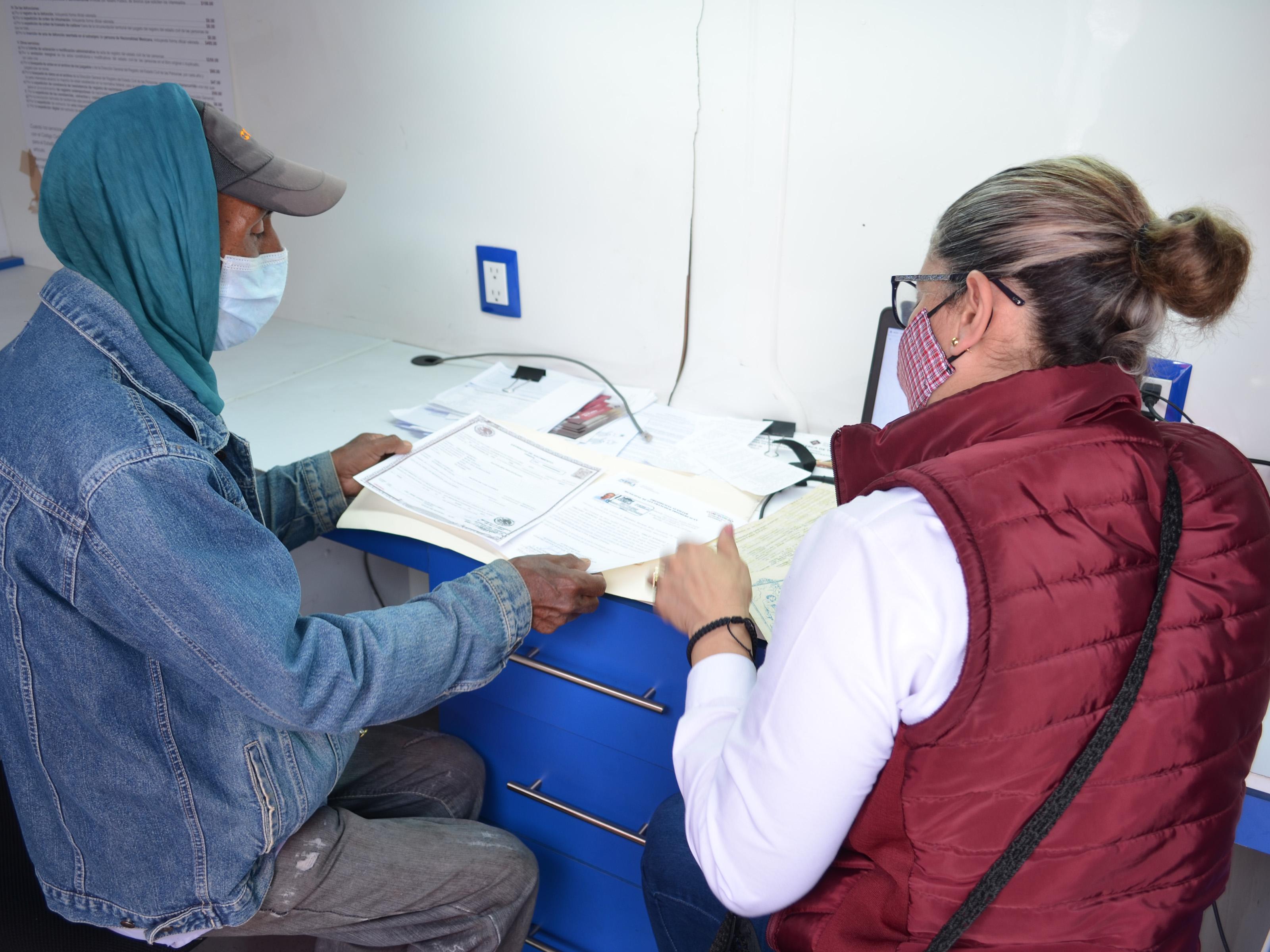 Reanuda Registro Civil jornadas ciudadanas en juntas auxiliares de Puebla